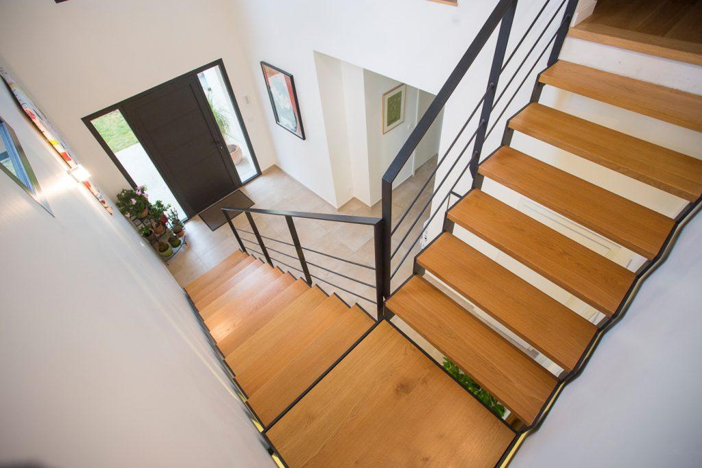 Escaliers métalliques intérieurs 11